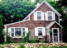 Oak Bluffs house rental - Front of house- off street parking-2 driveways, one on each side