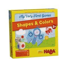 My Very First Games - Shapes & Colors - Legelső játékom - Formák és Színek - képességfejlesztő társasjáték 2 éves kortól - HABA - Egyszerbolt