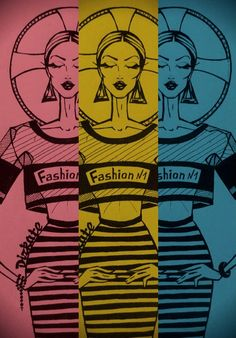 Fashion illustration: Fashion №1