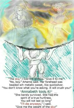 """""""You did well."""" ~The Titans Curse (Artemis and Percy Jackson) Percy Jackson Quotes, Percy Jackson Fan Art, Percy Jackson Books, Percy Jackson Fandom, Magnus Chase, Percy And Annabeth, Annabeth Chase, Percabeth, Solangelo"""