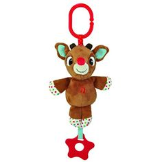 "bed3b34b35 Rudolph and Clarice On-the-Go Musicals  These brand-new musical toys play  the classic ""Rudolph the Red-Nosed Reindeer"" song when the star attachment  is ..."