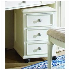 lowest price online on all american drew camden mobile 2 drawer lateral wood file cabinet in buttermilk