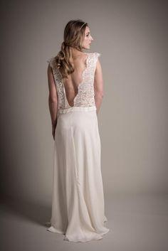 Jolie robe de mariée by @aufildelise. Beautiful wedding dress. #wedding #mariage #dress