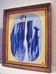 Paradise Falls Painting from Disney/Pixar's UP by BlondeInTheCity, $180.00 [OH MY GOSH. WANT.]