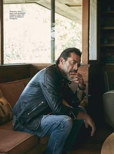 Jeffrey Dean Morgan in Esquire magazine. - N&D Satisfaction