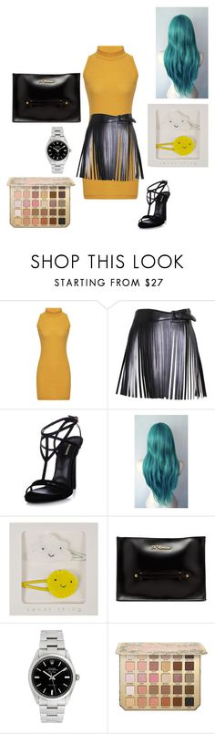 """Untitled #431"" by yasm-ina ❤ liked on Polyvore featuring Alaïa, Dsquared2, Dr. Martens and Rolex"