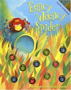 Eency Weency Spider [With Musical Sound Chip] by Margaret Wang http://www.amazon.com/dp/1581174187/ref=cm_sw_r_pi_dp_7cSRvb1R92SX3