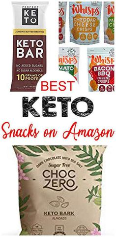 Keto Snacks To Buy, Good Keto Snacks, Keto Bars, Cheese Crisps, Low Carb Diet, Ketogenic Diet, Low Carb Recipes, Meal Planning, Weight Loss