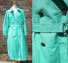 Vintage Clipper Mist Trench Coat / London Fog by SoChicaBoutique, 19.00