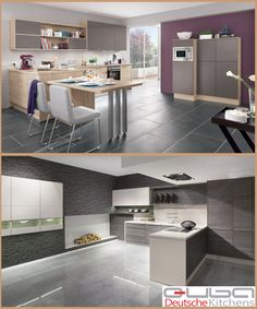 All you have to do is simple choose which #kitchen you love and then let our design team show you some examples of how to mix your choice with a contrasting, colour or wood. As you can see here, by mixing two kitchen door fronts together you create interest and a finished end-look, which is totally unique to you.