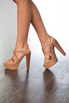 From dancing the night away to making a grand entrance, these stunning heels are sure to impress! Featuring a classic camel color, these beautiful heels are such a versatile look! They are so easy to