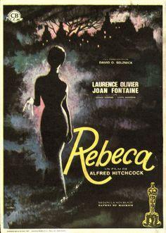 Rebeca (1940) EEUU. Dir: Alfred Hitchcock. Drama. Suspense. Películas de culto - DVD CINE 53