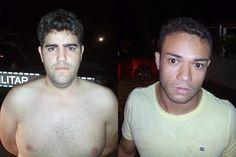 Dois jovens são presos no Cariri por aplicar golpes em postos de gasolina; VEJA FOTOS!