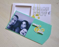 Peace Love & Joy Photo Card by Maile Belles for Papertrey Ink (September 2013)