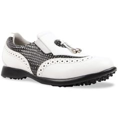 In the market for new golf shoes? Lori's Gold Shoppe carries a selection of cool stylish golf shoes for women. Check this one out -->  MADISON II Blackstone Sandbaggers Ladies Golf Shoes