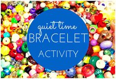 FUN Bracelet Activity For Kids!! (FEATURED POST) #DIY #children AND our Mom 2 Mom Linky Party is now live! Find all sorts of craft ideas in one place. ***Bloggers: feel free to link up your latest posts! #homeschool #crafts #DIY