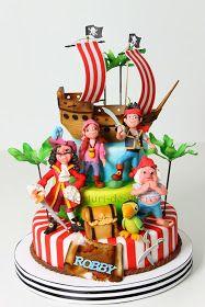 Torturi - Viorica's cakes: Captain Hook pentru Robert
