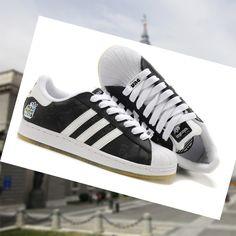 wholesale dealer ef6f4 24fd5 Un precio asequible Adidas Adicolor Superstar 2 zapatillas de los hombres  Negro Blanco ZeTIs 2015