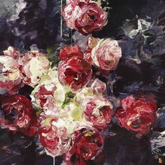 The floral paintings of Bobbie Burgers - Artists Inspire Artists