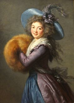 Portrait of Madame Mole-Raymond-1787 The Louvre.   This portrait of Madame Mole-Raymond, the actress of the Comedie Francaise, is one of Vigee LeBruns masterpieces