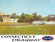 Connecticut Dragway 1964 Poster