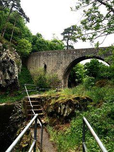 The Bridge of Alvah, near Banff, Aberdeenshire, Scotland.