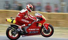 Eddie Lawson Cagiva 500 cc 2s