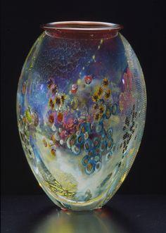 Josh Simpson Contemporary Glass - Inhabited Vases