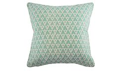Turquoise Volpi Pillow | Nest and Burrow
