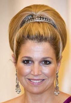 Dutch Diamond Haircomb Tiara