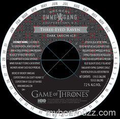mybeerbuzz.com - Bringing Good Beers & Good People Together...: Ommegang Game of Thrones - Three-Eyed Raven