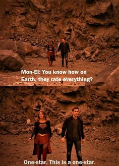 """Kara and Mon-El Supergirl Season 2 Episode 9 """"Supergirl Lives."""" I can't stop pinning these two. There were just so many hilarious moments with them! 