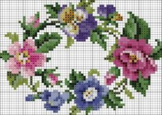 Thrilling Designing Your Own Cross Stitch Embroidery Patterns Ideas. Exhilarating Designing Your Own Cross Stitch Embroidery Patterns Ideas. Cross Stitch Rose, Cross Stitch Borders, Cross Stitch Flowers, Cross Stitch Charts, Cross Stitch Designs, Cross Stitching, Cross Stitch Embroidery, Hand Embroidery, Cross Stitch Patterns