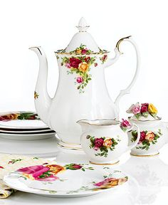 Royal Albert-Old Country Roses  Reminds me of my Grandmother Shaw. She had this pattern.