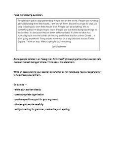 Persuasive Essay Topics For The Staar Test  Essay Topics Staar