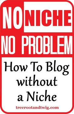 Not every blogger can - or wants to - fit into a niche. And thats ok! Here are 5 ways you can successfully ditch the niche with your blog.