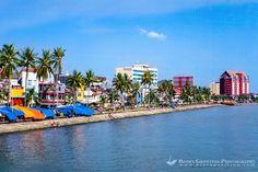 South Sulawesi, Makassar. Pantai Losari with it's many foodstalls ...