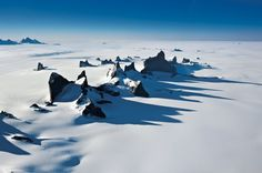 Drygalskiberge in der Ostantarktis -Michael Martin-