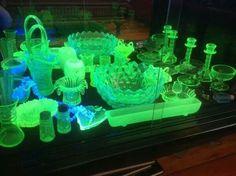 Uranium glass... awesome