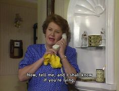 Hyacinth Bucket from Keeping Up Appearances. British Tv Comedies, British Comedy, Appearance Quotes, Infj Problems, Are You Being Served, Bbc Tv Shows, Color Television, Keeping Up Appearances, Todays Mood