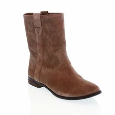 """Vince Camuto """"Fanti"""" Suede Pull-On Ankle Boot"""