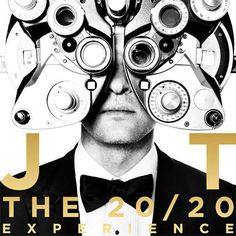Justin Timberlake Album Cover For 20/20 Experience- This album is soooo mature for him Im obssessed