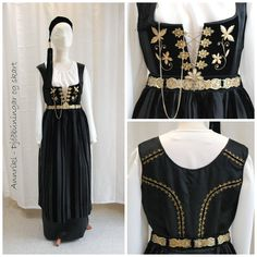 Fallegt Folk Costume, Costumes, Iceland Island, Viking Dress, World Cultures, Filigree, Scandinavian, Vintage Outfits, History