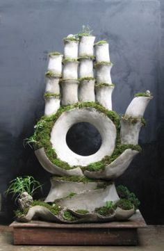 Esculturas verdes