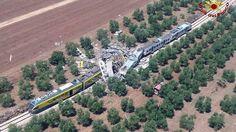 Frontalcrash in Apulien: Viele Tote bei Zugunglück nahe Bari