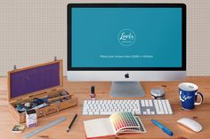 This free iMac mockup allows you to showcase your app design or web design in a photorealistic way. PSD file consists of Smart Object for easy edit. Thunderbolt Display, Tech Branding, Iphone Price, Unlock Iphone, Photo Dimensions, Memory Module, Free Photoshop, Multi Touch, Le Web