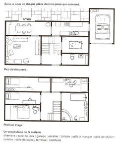 spanish printable worksheet house spanish worksheets for. Black Bedroom Furniture Sets. Home Design Ideas
