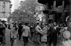 Ballot, Henri - Manifestação após vitória de Jânio Quadros para o governo do Estado de São Paulo  1954 -- São Paulo  SP  Brasil   Cumulus