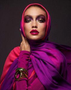 First Edition of Vogue Arabia March 2017 - Gigi Hadid  - Inez van Lamsweerde and Vinoodh Matadin
