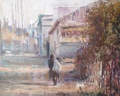 Online art gallery with original and unique artworks by Eric Eatwell Country Scenes, Eating Well, Online Art Gallery, Artwork, Painting, Work Of Art, Painting Art, Paint, Draw